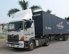 Xe tải chở hàng - Vận tải container