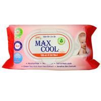 Khăn ướt Max Cool có hương