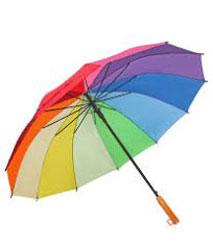 Ô dù cầm tay nhiều màu