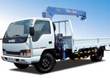 Vận chuyển hàng hóa bằng xe cẩu tự hành
