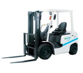 Xe nâng xăng dầu 1 tấn - 3 tấn