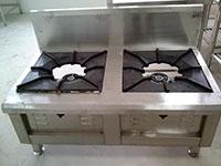 Bếp hầm thấp đôi