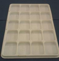 Khay PET trắng đục (Opaline Pet Plastic tray)
