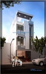 Nhà phố 5m x 22m