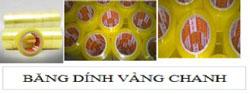 Băng dính màu vàng chanh
