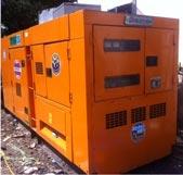 Máy phát điện cũ Komatsu