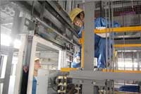 Thi công lắp đặt điện thang máy