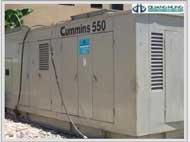 Cho thuê Máy phát điện cummins 550 KVA
