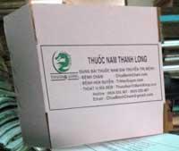 Thùng carton cho ngành dược
