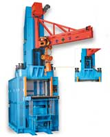 Four Column Type Top Plunger Transfer Molding Machine(With Crane System)