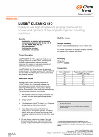 Lusin Clean G410