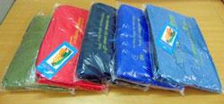 Túi PVC đựng áo mưa
