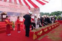 Lễ khởi công nhà máy