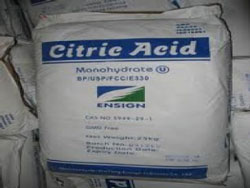 Acid citric- C6H8O7. H2O