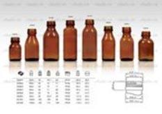 Chai dược phẩm syrup dòng 21