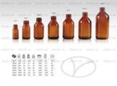 Chai dược phẩm syrup siro dòng 25