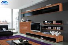 Thiết kế nội thất kệ ti vi