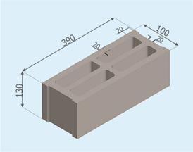 Gạch block rỗng