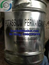 KMnO4 - Potatassium Permanganate