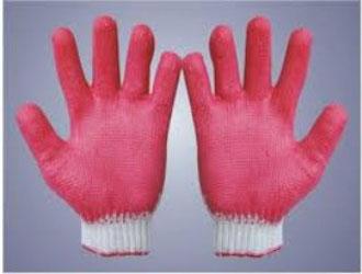 Găng tay phủ nhựa