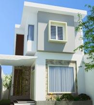 Thiết kế thi công kiến trúc nhà phố