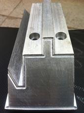 Đồ gá máy cắt uốn cửa - nhôm