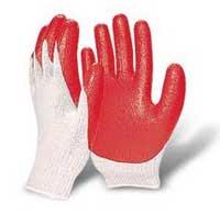 Găng tay sợi cao su