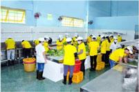 Mẫu bếp công nghiệp