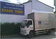 Xe vận chuyển rác thải