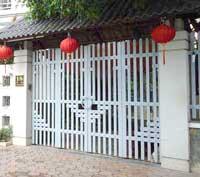 Hàng rào nhôm trang trí