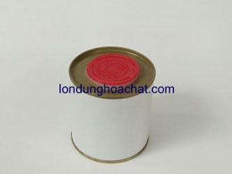 Bao bì kim loại nắp nhựa đỏ