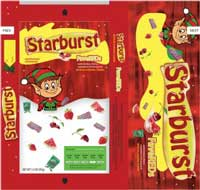 Re-define the visual of Starburst brand