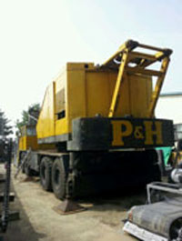 Xe cẩu P&H 100 tấn