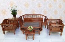 Bàn ghế gỗ xuất khẩu