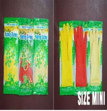 Găng cao su mini