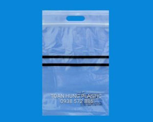 Túi zipper quai xách