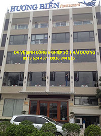 Vệ sinh tòa nhà công trình