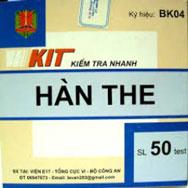 Kit thử hàn the
