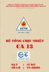 Bê tông chịu nhiệt CA13