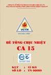 Bê tông chịu nhiệt CA15