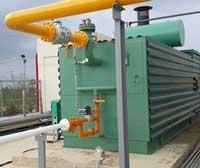 Máy hóa hơi đốt gas gia nhiệt nước