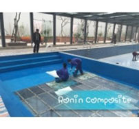 Bọc Composite bể bơi