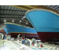Bọc FRP cho tàu thuyền