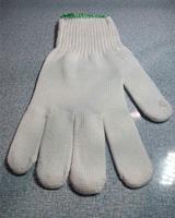Găng tay sợi màu trắng