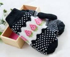 Găng tay len nữ