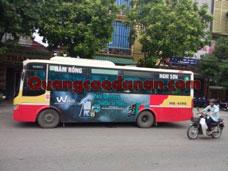 Thi công Quảng Cáo Wiko Trên Xe Bus