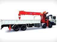 Xe cẩu Kanglim 15 tấn