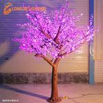 Đèn cây led hoa đào