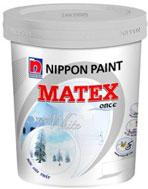 Sơn nội thất Nippon Matex siêu trắng