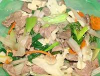 Thịt xào thập cẩm